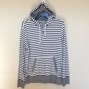 American Eagle Hooded shirt w/ front pocke…